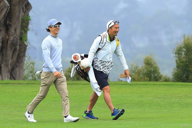新コーチでキャディの田中剛氏とタッグで久々のメジャーに挑む石川遼