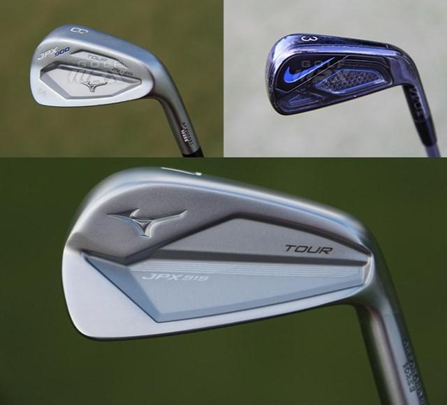2020年 全米プロゴルフ選手権 事前 ブルックス・ケプカのアイアン アイアンはミズノを愛用(提供GolfWRX、PGATOUR.COM)