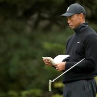 タイガー・ウッズは新しいパターをメジャーに持ち込んだ(Christian Petersen/PGA of America/PGA of America via Getty Images) 2020年 全米プロゴルフ選手権  事前 タイガー・ウッズ