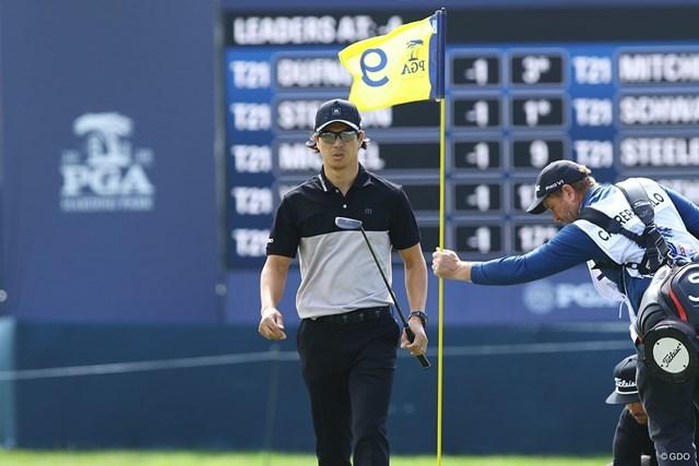 2020年 全米プロゴルフ選手権 初日 石川遼 無観客でもメジャーの雰囲気に気持ちは高ぶった