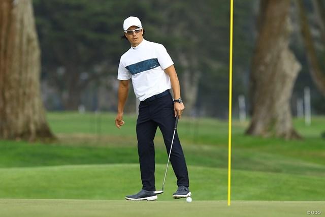 2020年 全米プロゴルフ選手権 2日目 石川遼 最終9番のパーパットは外れた