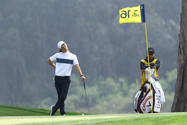 2020年 全米プロゴルフ選手権 2日目 石川遼 前半16番では2連続バーディを決めた