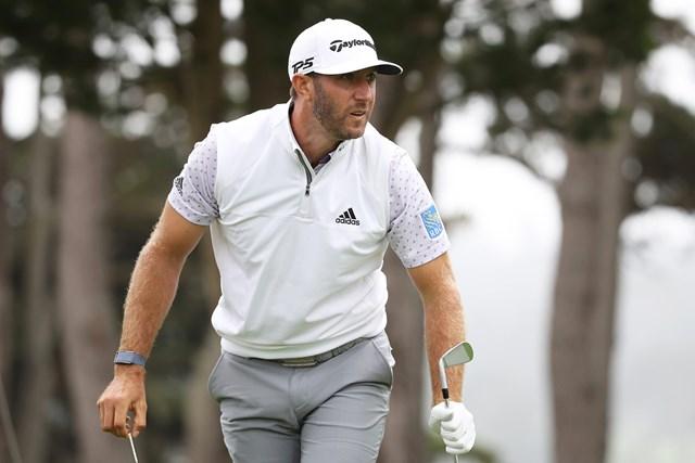2020年 全米プロゴルフ選手権 3日目 ダスティン・ジョンソン メジャー2勝目へ向け、単独首位に浮上したダスティン・ジョンソン(Sean M. Haffey/Getty Images)