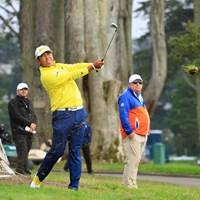 ティショットは左右に乱れたが… 2020年 全米プロゴルフ選手権 3日目 松山英樹