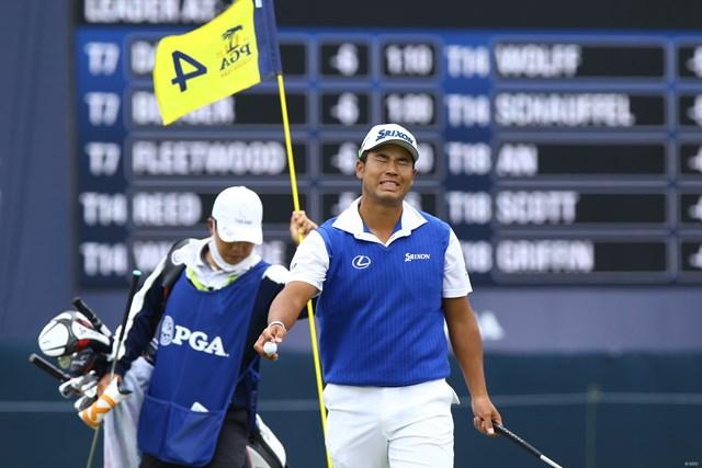 2020年 全米プロゴルフ選手権 4日目 松山英樹 松山英樹は前半イーブン。通算4アンダーで後半へ