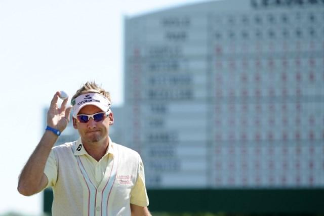 2010年 マスターズ2日目 イアン・ポールター 近年はアメリカでも安定した実力を見せ始めているI.ポールターが首位タイに浮上 (Harry How /Getty Images)
