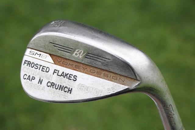 ウェッジは3本体制(提供GolfWRX、PGATOUR.COM)