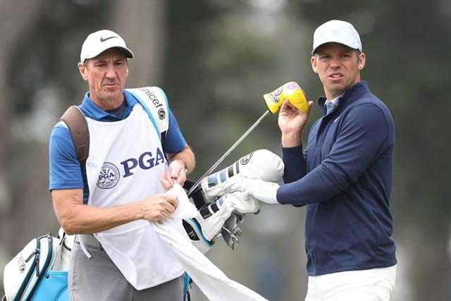 2020年 全米プロゴルフ選手権 3日目 ポール・ケーシー キャディ復帰で善戦したポール・ケーシー(Jamie Squire/Getty Images)