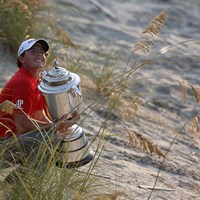 全米オープンと同じ8打差で全米プロゴルフ選手権を制したマキロイ(Ross Kinnaird/Getty Images) ロリー・マキロイ