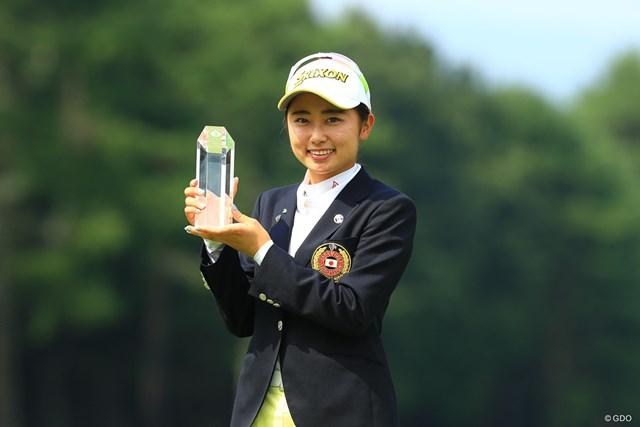 2019年 NEC軽井沢72ゴルフトーナメント 最終日 安田祐香 前年大会でローアマを獲得した安田祐香。今年はホステスプロ