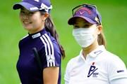 2020年 NEC軽井沢72ゴルフトーナメント 事前 上田桃子、松森彩夏