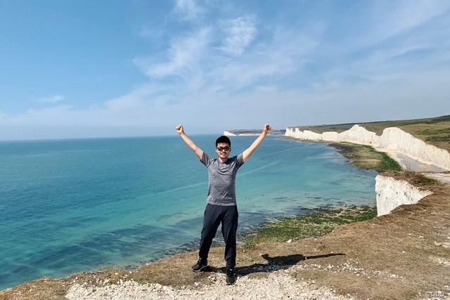 2020年 ケルティッククラシック 事前 川村昌弘 ウェールズに行く前に、英国の南の海岸に寄ってきました