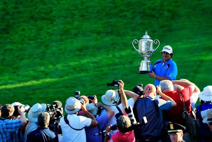 2年後に借りを返したダフナー。敗戦の記憶を塗り替えた(Sam Greenwood/Getty Images) 2013年 全米プロゴルフ選手権 最終日 ジェイソン・ダフナー