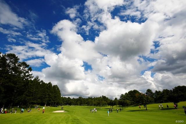 2018年 NEC軽井沢72ゴルフトーナメント 2日目 大会は関係者全員の陰性を確認して週末へ