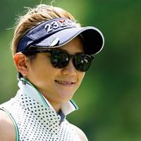 がんばれ、みっすー(代表撮影:岡沢裕行) 2020年 NEC軽井沢72ゴルフトーナメント 初日 成田美寿々