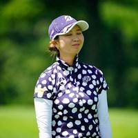 ちーん(代表撮影:鈴木祥) 2020年 NEC軽井沢72ゴルフトーナメント 初日 金澤志奈