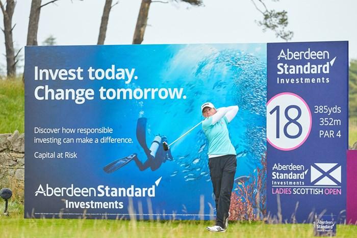 首位に並んで大会を折り返したステーシー・ルイス(Paul Severn/LPGA) 2020年 ASIスコットランド女子オープン 2日目 スターシー・ルイス