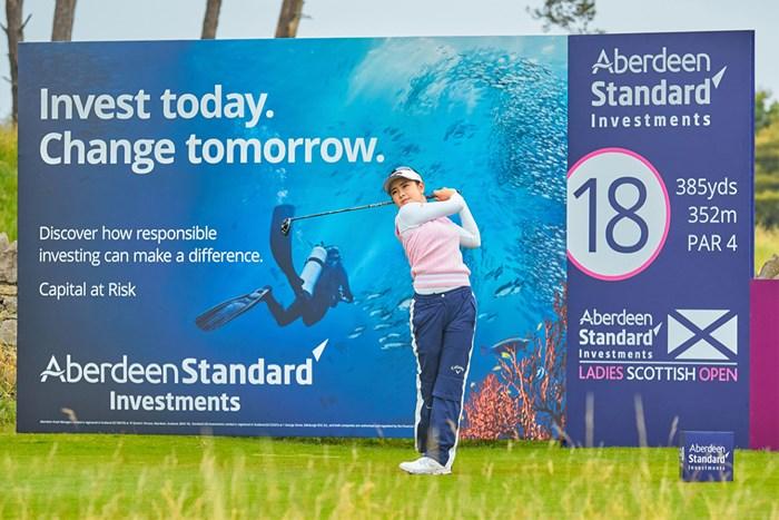河本結(Paul Severn/ LPGA) 2020年 ASIスコットランド女子オープン 2日目 河本結