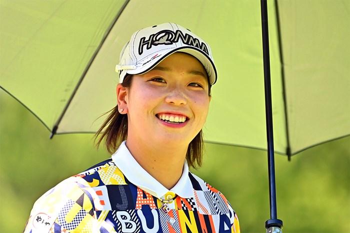2日目に「66」をマークした後藤未有(Atsushi Tomura/Getty Images) 2020年 NEC軽井沢72ゴルフトーナメント  2日目 後藤未有