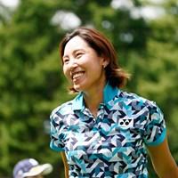 ショットもパットも好調だった若林舞衣子(代表撮影:岡沢裕行) 2020年 NEC軽井沢72ゴルフトーナメント  最終日 若林舞衣子