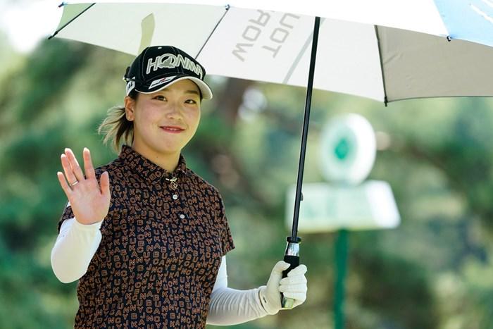 きょうは残念!(代表撮影:岡沢裕行) 2020年 NEC軽井沢72ゴルフトーナメント 最終日 後藤未有