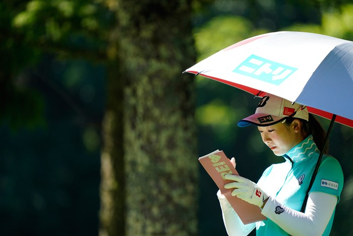 REI(代表撮影:岡沢裕行) 2020年 NEC軽井沢72ゴルフトーナメント 最終日 松田鈴英