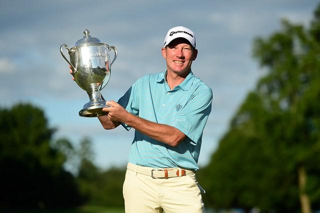 ジム・ハーマンがツアー3勝目を挙げた(Jared C.Tilton/Getty Images)