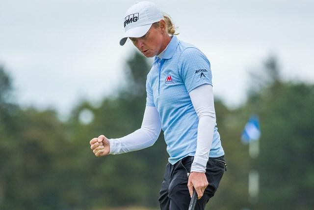 2020年 ASIスコットランド女子オープン 最終日 ステーシー・ルイス 母は強し(Tristan Jones/LPGA)