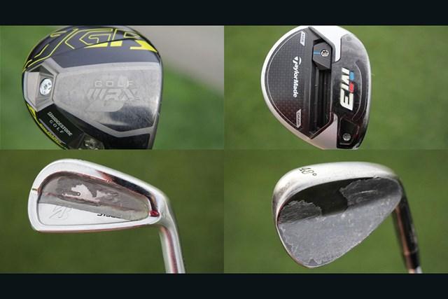 2020年 PGAツアーオリジナル ブラント・スネデカー ブラント・スネデカーのクラブ(画像提供:GolfWRX、PGATOUR)