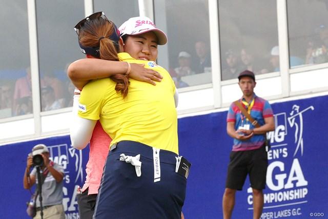 畑岡奈紗 翌18年の「KPMG女子PGA選手権」でプレーオフを戦った