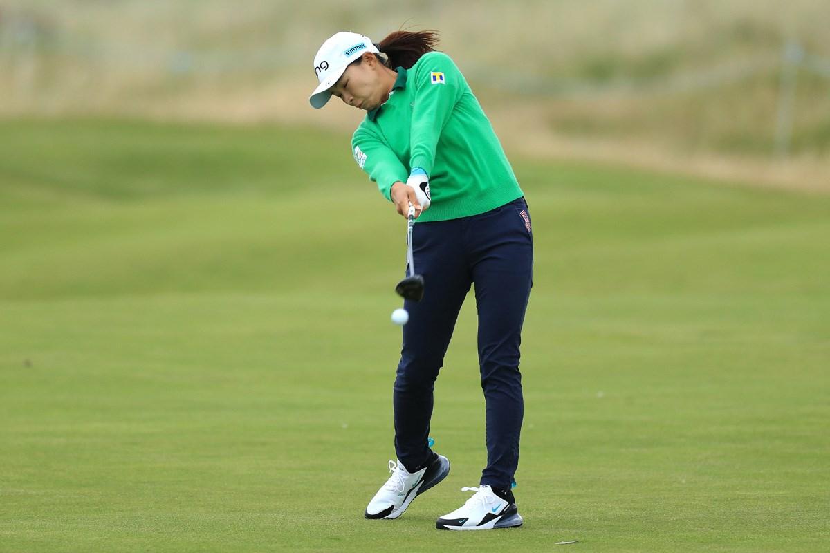 ボード スコア 女子 速報 ゴルフ