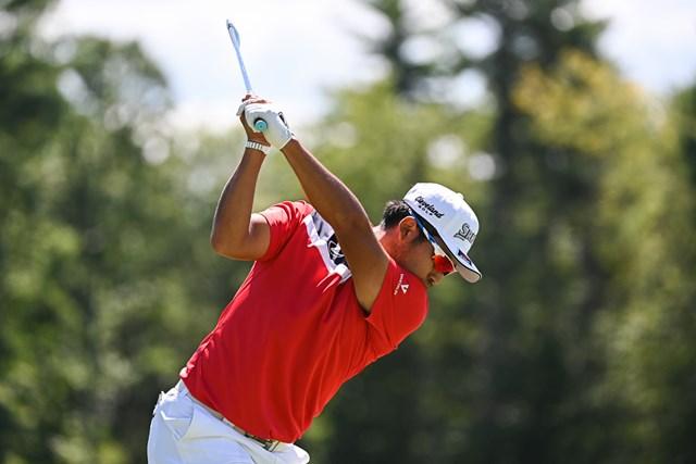 2020年 ザ・ノーザントラスト  初日 松山英樹 松山英樹は7年連続のプレーオフシリーズ(Ben Jared/PGA TOUR via Getty Images)