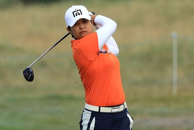 2020年 AIG女子オープン(全英女子)  2日目 野村敏京 野村敏京は上位で決勝ラウンドに進んだ(R&A、Getty Images)