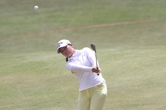 """2020年 The """"One"""" Junior Golf Tournament 初日 梶谷翼 久々の試合は日本アマチュアランキング1位の実力発揮とはいかなかったが、試合がうれしい"""