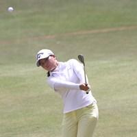 """久々の試合は日本アマチュアランキング1位の実力発揮とはいかなかったが、試合がうれしい 2020年 The """"One"""" Junior Golf Tournament 初日 梶谷翼"""