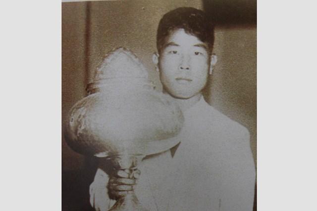 1933年「日本オープン」優勝当時の中村兼吉。海外メジャーの歴史にその名を刻んだ(武藤一彦氏提供)