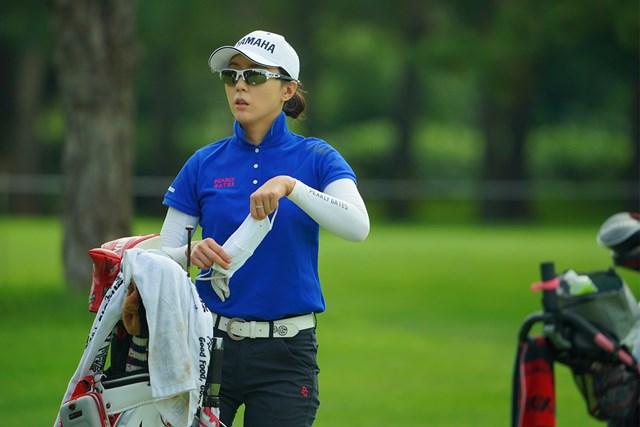 2020年 ニトリレディスゴルフトーナメント 事前 ユン・チェヨン ようやく日本に入国できた(代表撮影/中野義昌)