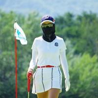 日焼け対策もバッチリ 2020年 ニトリレディスゴルフトーナメント 事前 松田鈴英