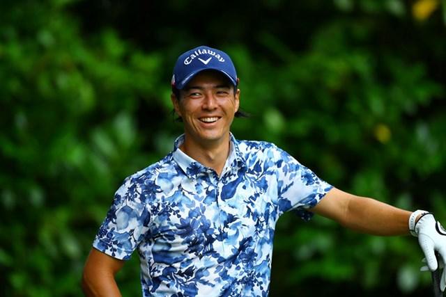 2020年 石川遼 攻撃的なゴルフを展開する石川遼(写真は2020年ゴルフパートナーエキシビション)