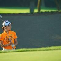 バンカーショット(代表撮影/中野義昌) 2020年 ニトリレディスゴルフトーナメント 2日目 安田祐香