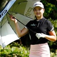 微笑み(代表撮影/上山敬太) 2020年 ニトリレディスゴルフトーナメント 2日目 セキ・ユウティン