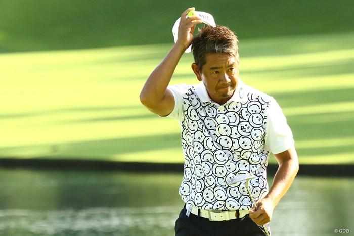 藤田寛之はシニアデビューラウンドをトップで終えた 2020年 マルハンカップ 太平洋クラブシニア  初日 藤田寛之
