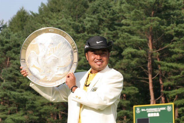 2020年 片山晋呉 ツアー通算20勝目をあげた片山晋呉(写真は2006年フジサンケイクラシック)