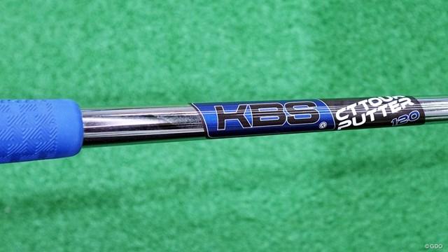 トラス パターを筒康博が試打「センターシャフト感強め」 KBS クロムCTツアーパターシャフト(重量120g)
