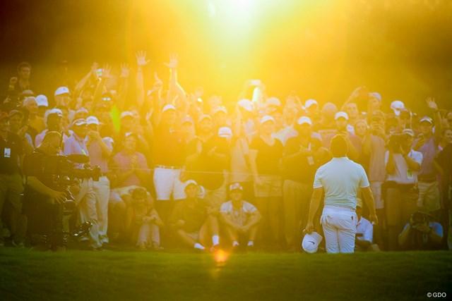2020年 ツアー選手権 事前 ロリー・マキロイ 4年前に初めて年間王者に輝いたマキロイ。夕暮れのプレーオフ決着だった (Ryan Young/PGA TOUR via Getty Images)