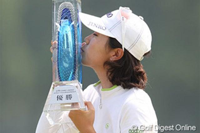 昨年、横峯さくらを1打差で振り切った韓国の李知姫