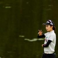 3本な?3本(代表撮影・岡沢裕行) 2020年 ゴルフ5レディス プロゴルフトーナメント 初日 安田祐香