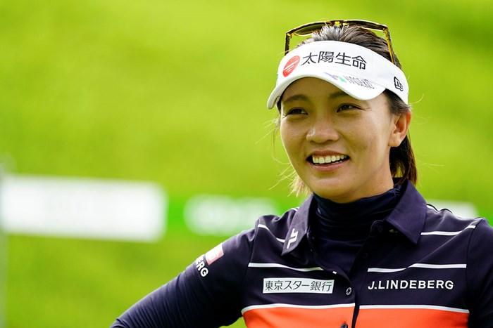 台湾からきたテレサ・ルーです(代表撮影・岡沢裕行) 2020年 ゴルフ5レディス プロゴルフトーナメント 初日 テレサ・ルー