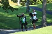 2020年 ゴルフ5レディス プロゴルフトーナメント 2日目 カメラマン