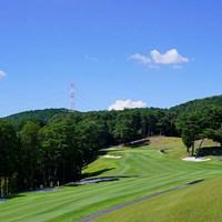天候悪化が心配されましたが、いい天気でした(代表撮影・岡沢裕行) 2020年 ゴルフ5レディス プロゴルフトーナメント 2日目 コース